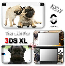 Dog Pug Adorable Pet NEW SKIN VINYL STICKER DECAL COVER #2 for Nintendo 3DS XL