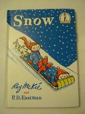 Beginner Books - Snow - I Can Read It All By Myself (1990)  (008-7)