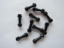 Lego 10 x Griff für Lichtschwert 64567 schwarz  Laserschwertgriff neuw.