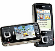 Nokia N81 Unlocked 8GB Mobile Cell  Phone GSM 3G WiFi Slide 2MP Black