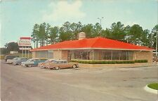 A View of 50's Autos Parked At Claude's Restaurant, Lexington NC 1961