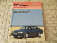 REVUE TECHNIQUE MAZDA 626 ESSENCE ET DIESEL BERLINE - Coupé - Break