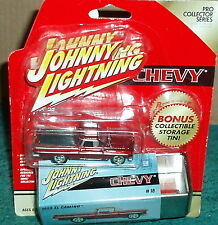 JOHNNY LIGHTNING 1959 CHEVY EL CAMINO PICK UP TRUCK  w COLLECTOR TIN 1/64