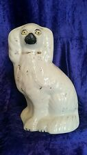 Genuine victorian staffordshire king charles spaniel chien 19th siècle