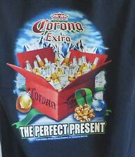Mens Tshirt Corona Extra Beer Perfect Present Christmas 2006 Med Carbon