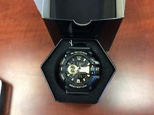 Casio G-Shock GA400GB-1A9 Analog Digital Black Gold Watch