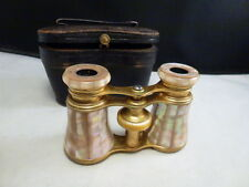 Lemaire Paris  Binoculars Mother of Pearl MOP with  ORIG CASE