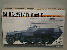 AFV Club 1/35 Scale German Sd.Kfz.251/17 Ausf.C (Command Vehicle)