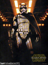 CAPTAIN PHASMA POSTER STAR WARS THE FORCE AWAKENS STORMTROOPER FIRST ORDER 00A