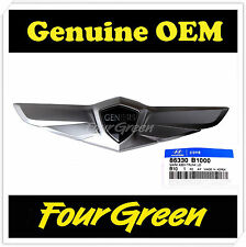 Tailgate Trunk Wing Emblem for Hyundai 2015 Genesis OEM NEW [86330B1000]
