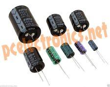 10 PEZZI Condensatori Elettrolitici 1000uF micro farad 6,3V volts 105° QUALITA'