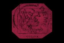 Enmarcado impresión-British Guyana 1c Magenta sello valorado en $9,480,000 (Foto)