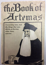 The Book of Artemas (1918) George Doran Co. Publisher with dustjacket