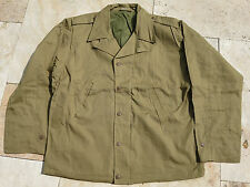 US Army M41 Vintage EM Feldjacke Gr 36 Navy Marines Officer WKII WW2 Fieldjacket