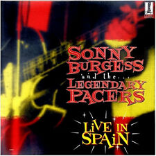 SONNY BURGESS & THE LEGENDARY PACERS Live In Spain LP (gatefold) . rockabilly