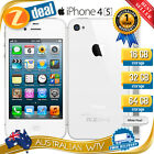 APPLE iPHONE 4S 64GB WHITE 100% UNLOCKED + 12MTH AUS WARRANTY (SEALED BOX)