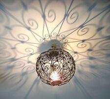 lustre plafonnier marocain fer forgé lampe orientale lanterne applique 25 cm!!