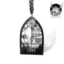 Necklace Collier Curiology Witches Workroom Diorama Sorcière Gothic Gothique