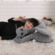1Pc Baby Kids Long Nose Elephant Doll Pillow Soft Plush Stuff Toys Lumbar Pillow