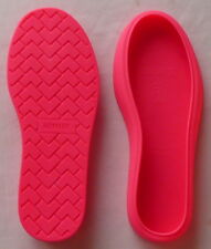 1 Pair HOMAGE BOOT WRAPS Covers Neon/Hot Pink Size 9  NEW