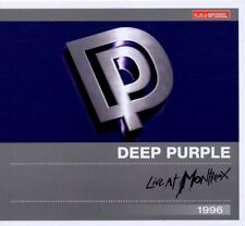 Deep Purple - Live at Montreux 1996 (Kulturspiegel Edition) CD Neu +Bonustracks