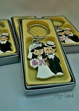 60 Wedding Favors Key Chain Bridal Shower Event Favours Keychains Lot