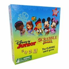 Hasbro Disney Junior Scrabble JR The Classic Board Game 2 Sided