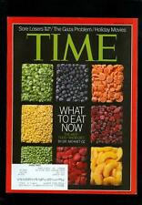 2012 Time Magazine: Food - What to Eat Now Anti-Food-Snob Diet - Dr Mehmet Oz