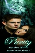 NEW Purity: Time-Travel Romance/Fantasy by Scarlet Black Paperback Book (English