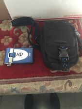 SVP T-400 HD Camcorder Blue With Bag Case