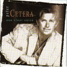 Peter Cetera : One Clear Voice [Us Import] CD (1999)