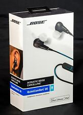 Bose QC20 Noise Cancelling In Ear Headphones For Samsung And Android - Black