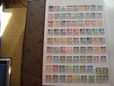 DANEMARK - 81 timbres obliteres stamp denmark