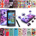 Ultra Thin Silicone Gel Case Cover + Tempered Glass For Nokia/Microsoft Phones