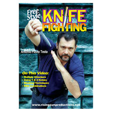 Knife Fighting Free Style MMA Martial Arts DVD Fighting