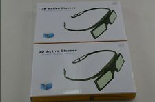 2X 3D RF Active Glasses for UK 3D Panasonic 3D TV TX-48CX400B TX-55CX400B