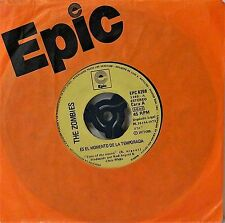 "THE ZOMBIES~TIME OF THE SEASON~SPANISH PRESS~EPC 8298~7"" SINGLE~EXCELLENT-"