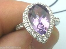 10k Ring With 4.58ctw Amethyst and Topaz Size O