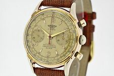 GROMA Chronograph Suisse Vintage Watch Cal. Landeron 48 Working (2569)