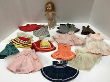 Vintage 1950s Vogue Ginny Doll Straight Leg Walker Red Hair Clothes Lot