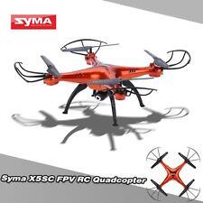Syma X5SC/X5SC-1 4CH 2.4G 6-axis RC Drone +2.0MP HD Camera Orange US Stock I72T