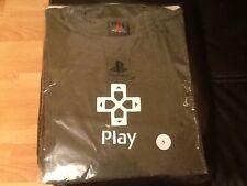 Nuevo oficial de Promo Sony Playstation camiseta oscura verde pequeño. Sony PROMOCIONALES RARO