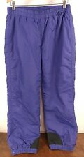 Womens Columbia Snowboarding Skimobile Skiing Purple Snowpants - Size Medium