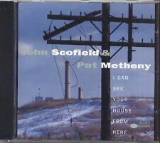 JOHN SCOFIELD PAT METHENY - I can see your house  - CD 1994 SIGILLATO SEALED