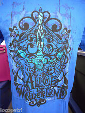 Mens Disney Alice In Wonderland Shirt New 2XL