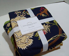 Pottery Barn Multi Colors Laina Palampore King Duvet Cover 2 King Shams New