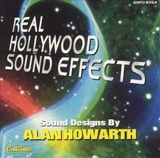 ALAN HOWARTH - Real Hollywood Sound Effects CD ** Like New / Mint **