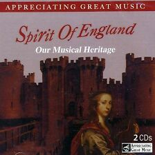 2 CD BOX APPRECIATING GREAT MUSIC SPIRIT OF ENGLAND ELGAR DELIUS WALTON HANDEL
