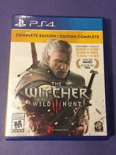 Witcher 3 Wild Hunt *Complete Edition* for PS4 NEW