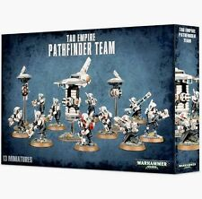TAU EMPIRE PATHFINDER Team: 10 Fire Caste+3 Drones -Games Workshop Warhammer 40K